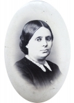 Photograph of Maria Rosetti, the Engravings Department, the Library of the Romanian Academy