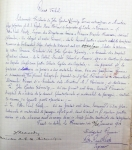 Deed of donation of a land parcel situated near Grădina Icoanei park, for the construction of the Anglican Church. Bucharest City Hall Archives, Technical Department – file no. 156/1899-1901.