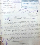 Donation request for the land parcel near Grădina Icoanei, for the construction of the Anglican Church. Bucharest City Hall Archives, Technical Department – file no. 156/1899-1901.