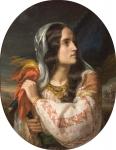 România revoluționară, ulei pe pânză, 1850, colecția Muzeului Național de Artă al României, Galeria de Artă Românească Modernă