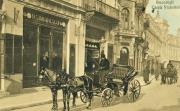 Carte poștală, București, Calea Victoriei, Pasajul Român, 1896