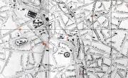 Planul strazilor din București, 1899 , Arhiva PMB, Serviciul tehnic, dosar 156/1899-1901